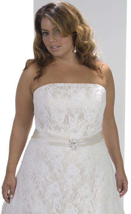 Plus size bride :o) - Obrázek č. 41