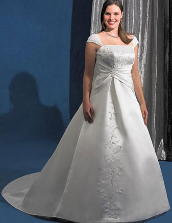 Plus size bride :o) - Obrázek č. 51