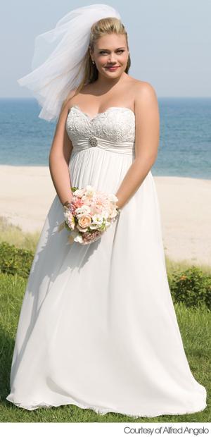 Plus size bride :o) - moc hezká nevěsta