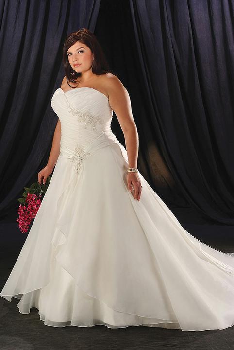 Plus size bride :o) - tenhle typ se mi líbí