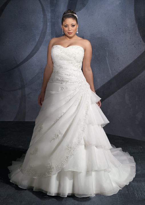 Plus size bride :o) - do těch jsem se zamilovala