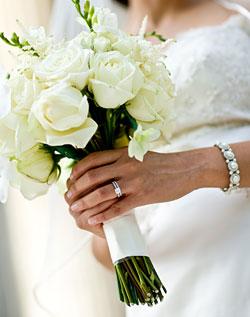 Květiny - bílé růže - Obrázek č. 4