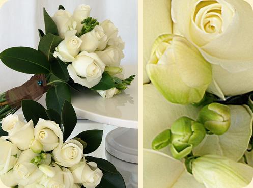 Květiny - bílé růže - Jeee to se mi líbí ale asi nebude
