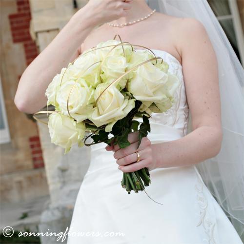 Květiny - bílé růže - Obrázek č. 6