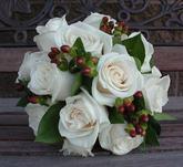 Květiny - bílé růže - Obrázek č. 25
