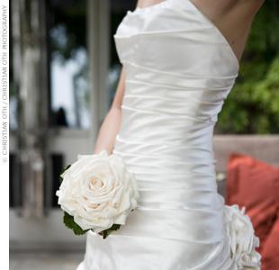 Květiny - bílé růže - Obrázek č. 39