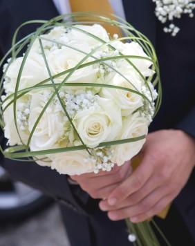 Květiny - bílé růže - Obrázek č. 42