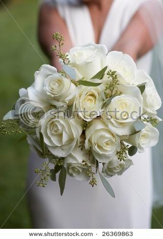 Květiny - bílé růže - Obrázek č. 30