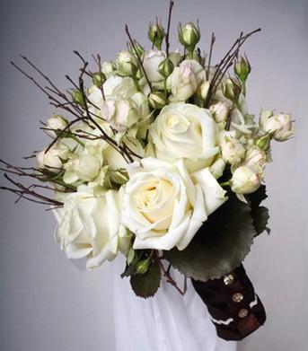 Květiny - bílé růže - Obrázek č. 31