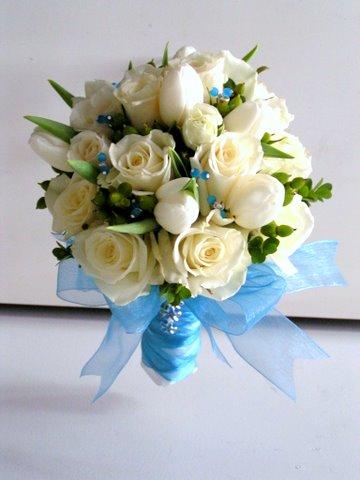 Květiny - bílé růže - Obrázek č. 33