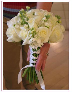 Květiny - bílé růže - Obrázek č. 17