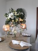 vysoké vázy - svietniky,