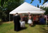Svatební stan 6x12 m,