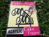 Zápich na dort Mr.&Mrs.,