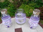 Velké fialové vázy,