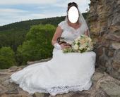 Držák na svatební kytici,