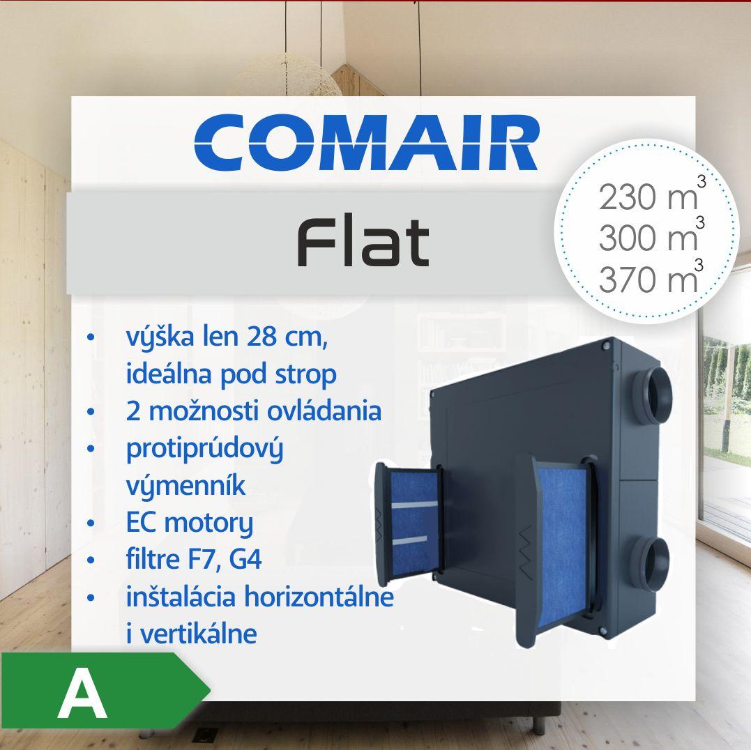 Rekuperačné jednotky COMAIR Flat - Obrázok č. 1