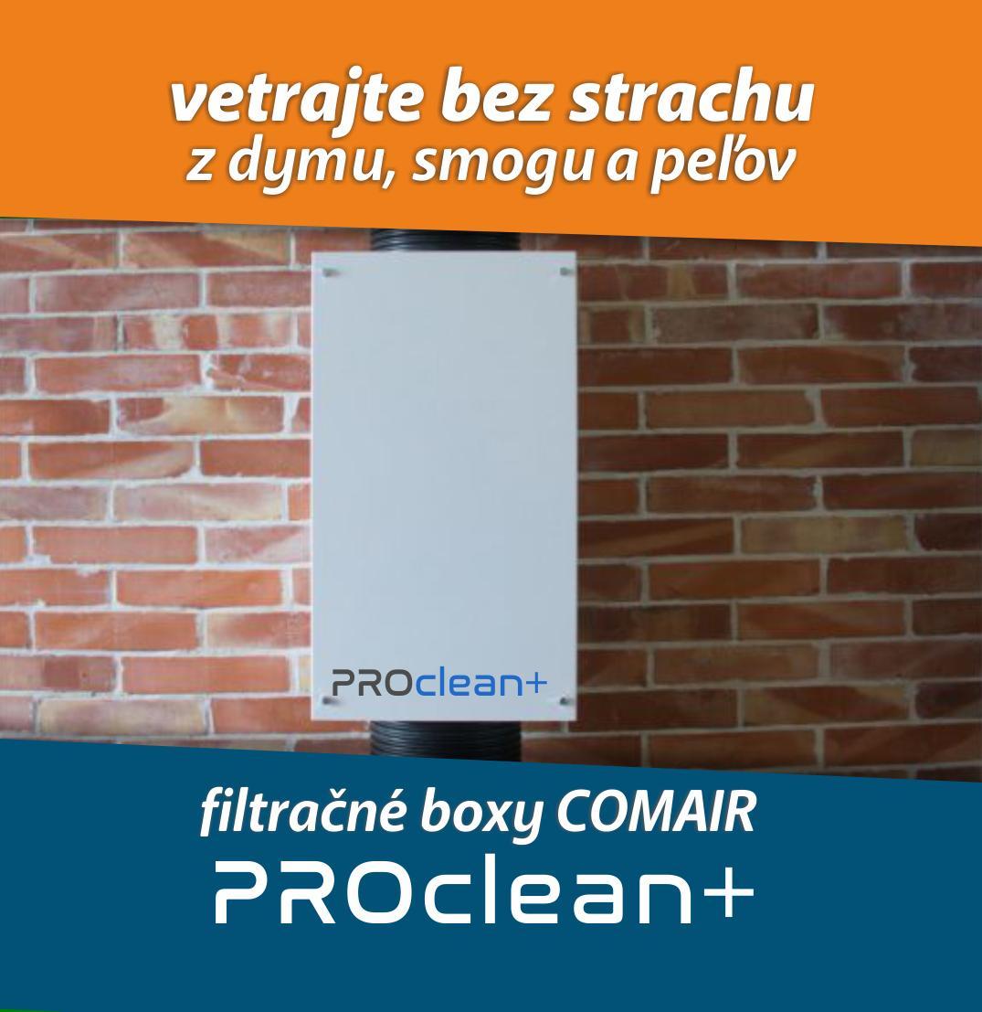 Filtračný box COMAIR PROclean+ - Obrázok č. 1