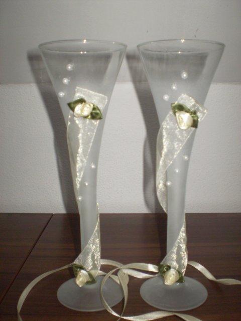 Moje prípravy - naše svadobné poháriky