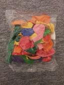 barevný mix balónků ,