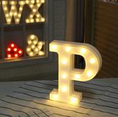 LED pismeno P,