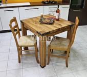 Dubový stôl Prémium rustik,