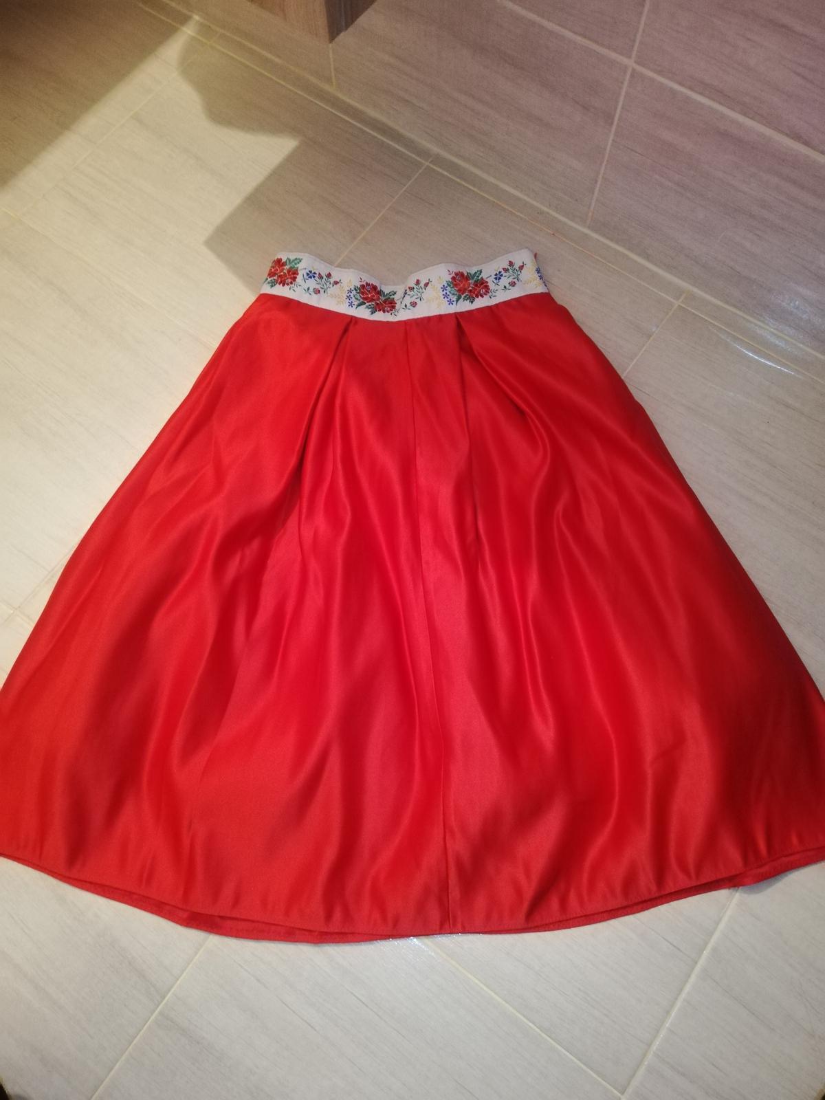 Sukňa na redovy tanec  - Obrázok č. 1