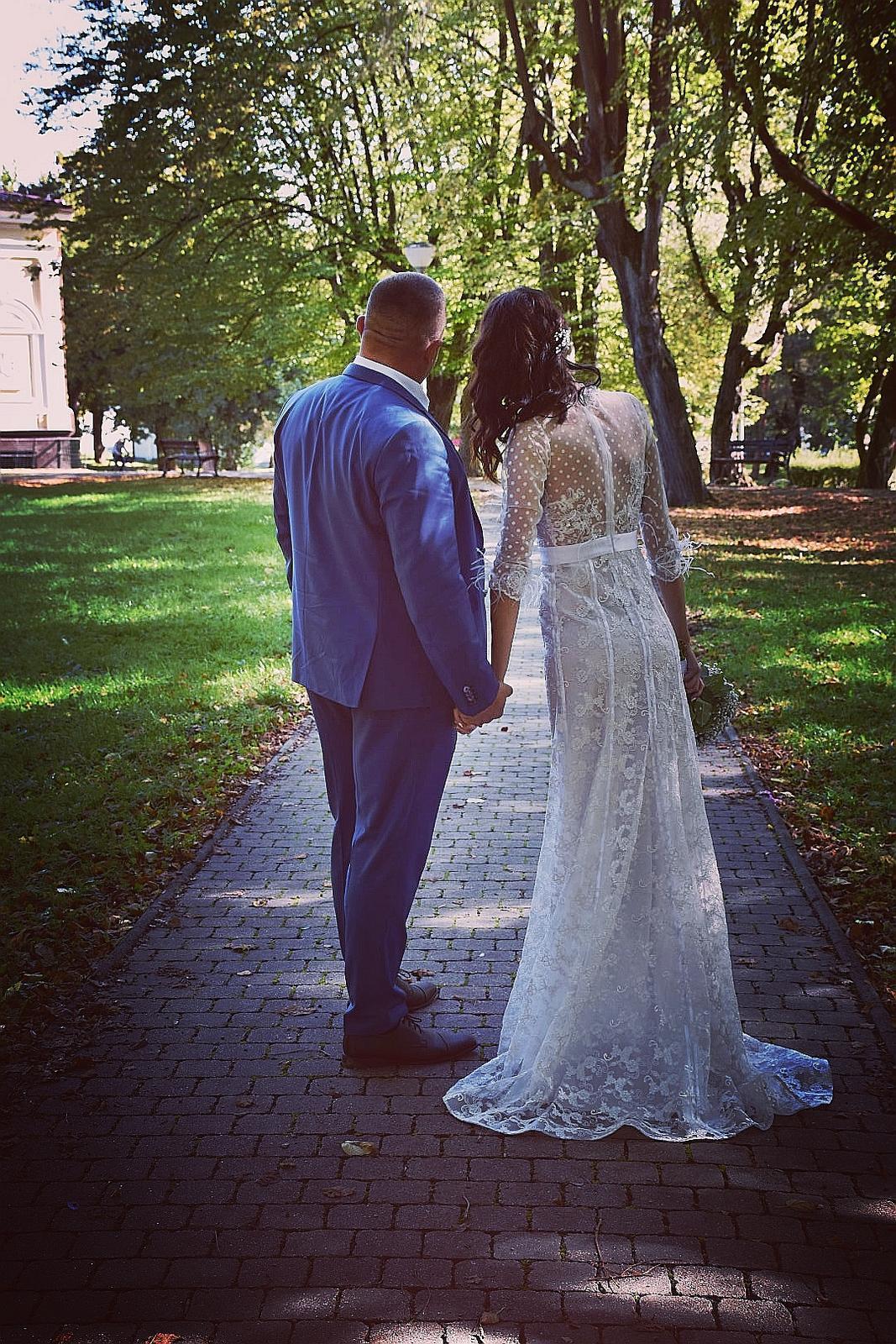 Svadobné šaty exclusive - Obrázok č. 1