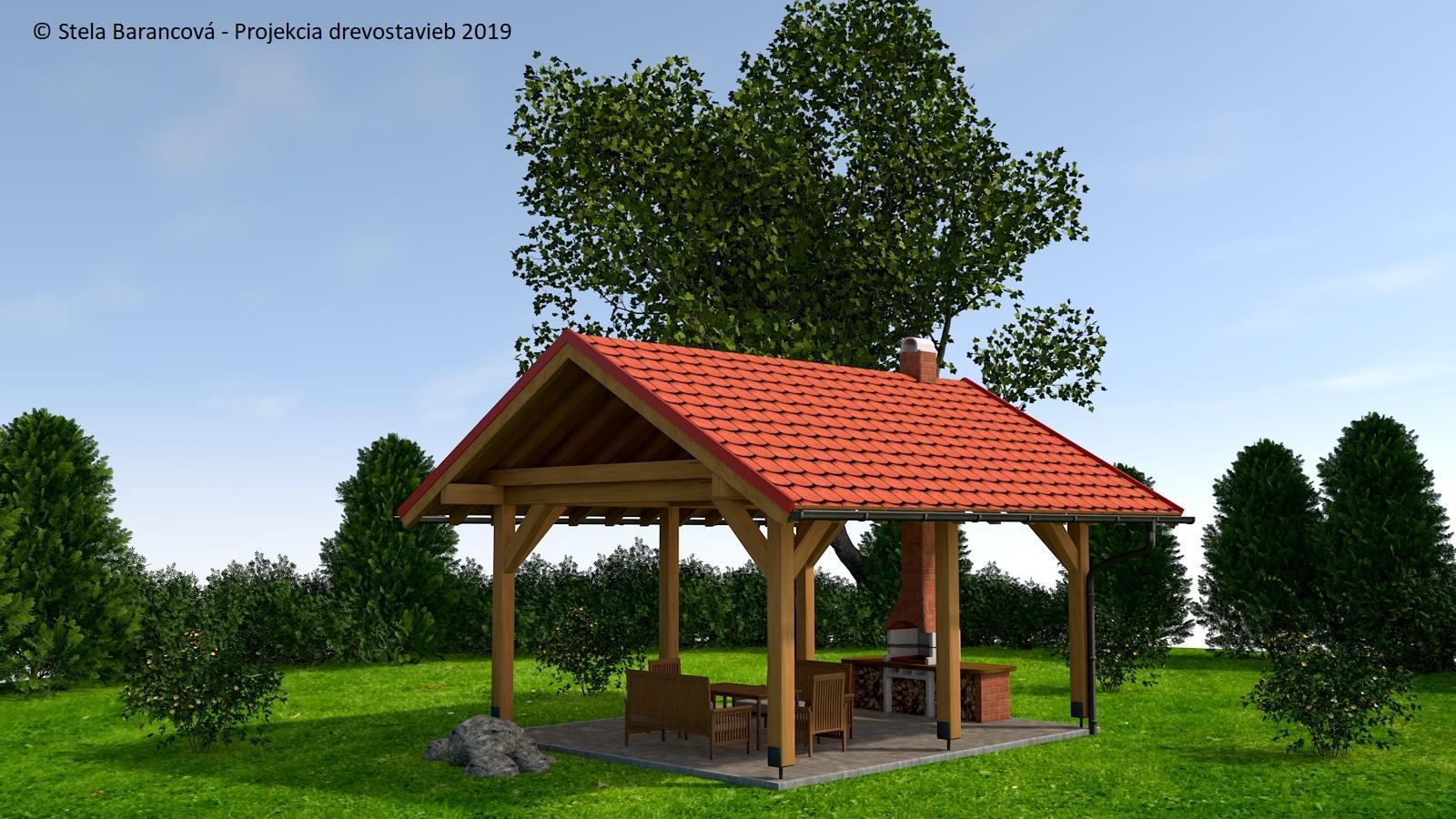Výrobno-montážna dokumentácia carportov, pergol, záhradných domčekov a altánkov - Obrázok č. 1
