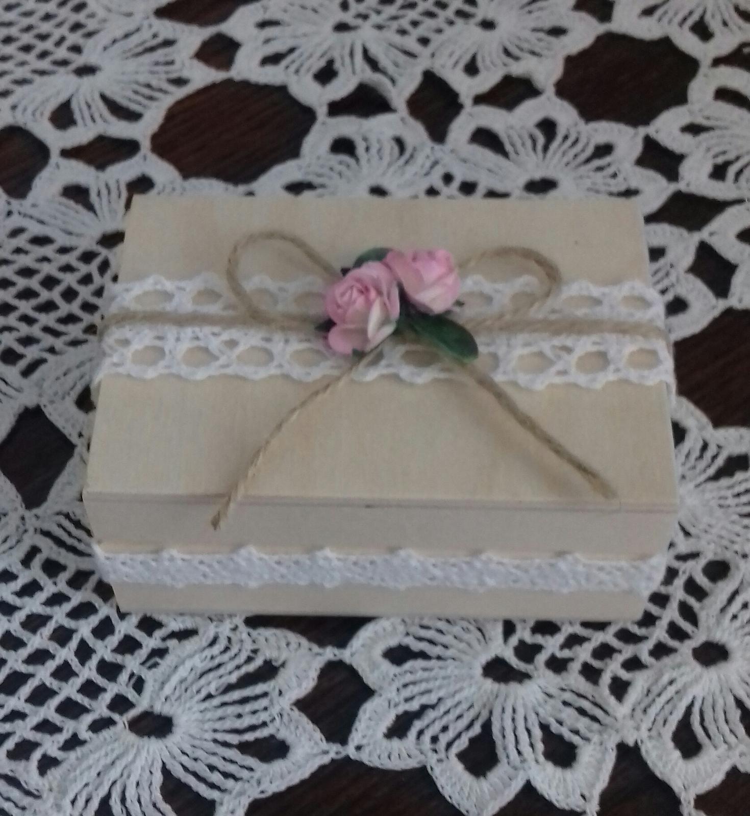 Krabička na prstýnky - Obrázok č. 1