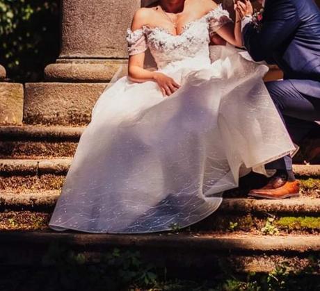 svadobné šaty 40 - Obrázok č. 4