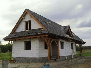škridla je už na streche :-)