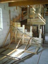 schodisko... pred zaliatím betónom