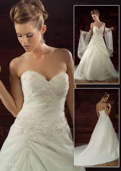 R+M = 18.06.2011... alebo predstava vs realita - Moje svadobné šaty ...