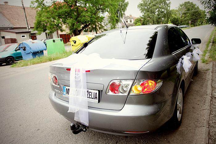 R+M = 18.06.2011... alebo predstava vs realita - naše svadobné autíčko