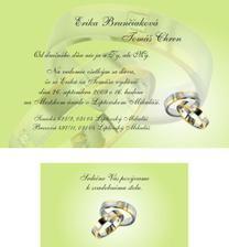 Nase svadobne oznamenie