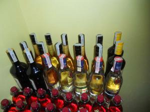 a prví alkohol...