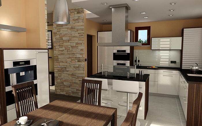 3D návrh kuchýň - Obrázok č. 238