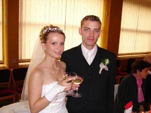 prípitok s manželom