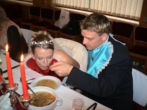 svadobná polievka
