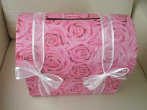 Truhlička na přání a dárky v obálce:-)