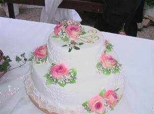 Svatební dortík...