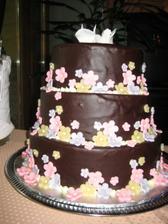 dort, cokoladovy s visnemi a slehackou, moc dobry!