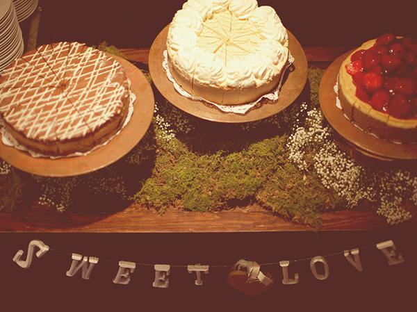 Naše představy - cheescake, medovník a jahodový dortík budou místo cukroví a zákusků...