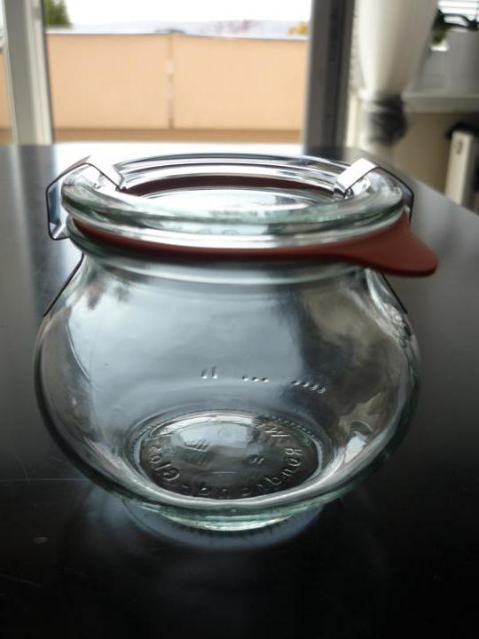 Co už máme - skleničky na medík pro hosty