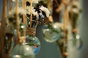 vázičky - nápad květinářky