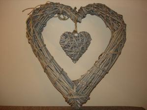 veľké srdce na dvere...veľmi sa mi páči :)