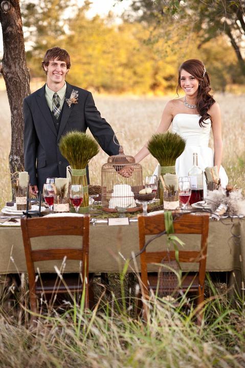 Inšpirácia na foto :) - svadba na lúke :)