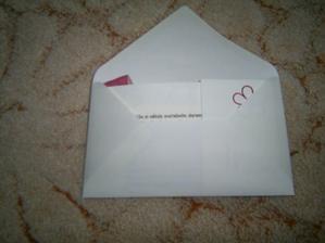 takhle poskládané v obálce:)