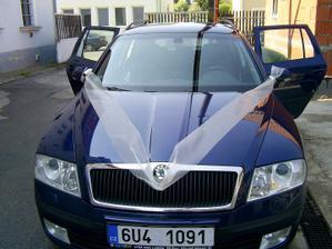 asi nějak takhle na všechna auta svatebčanů, samozřejmě toto je jen náznak:)